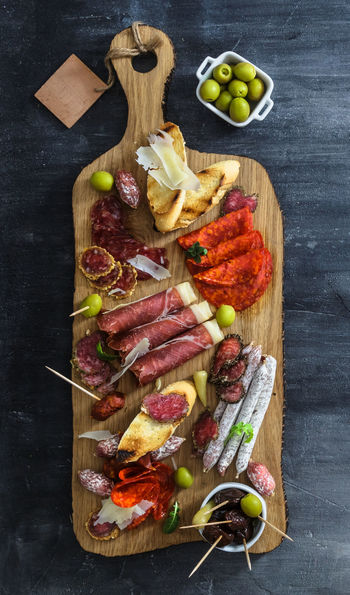 Tapas spread, Spain