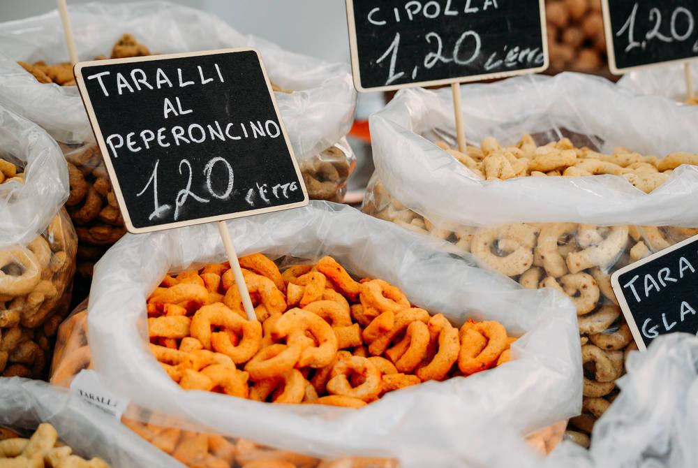 Taralli: typical snack of Puglia