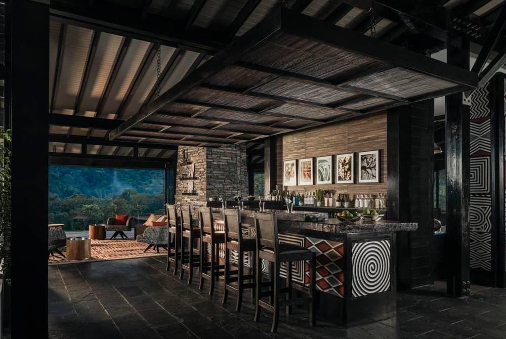 Tea Lounge Bar, One & Only Nyungwe House, Rwanda