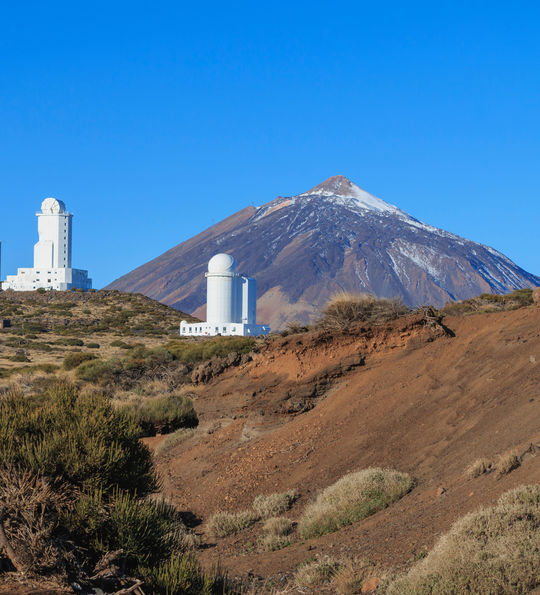 Teide Observatory and Mountain, Tenerife