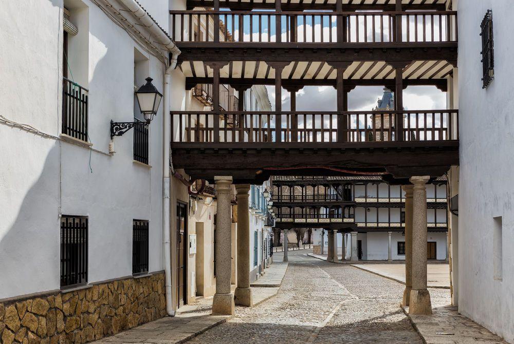 Tembleque Square, Toledo