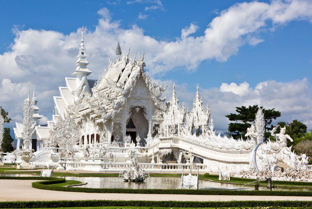 Temple Rong Khun in Chiang Rai, Thailand