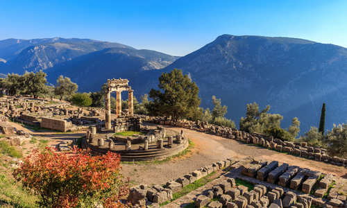 Temple of Athena Pronaia, Delphi