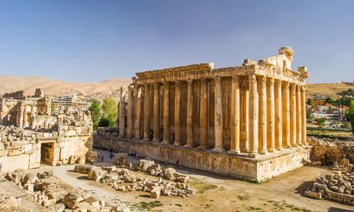 Temple of Baachus, Baalbeck, Lebanon