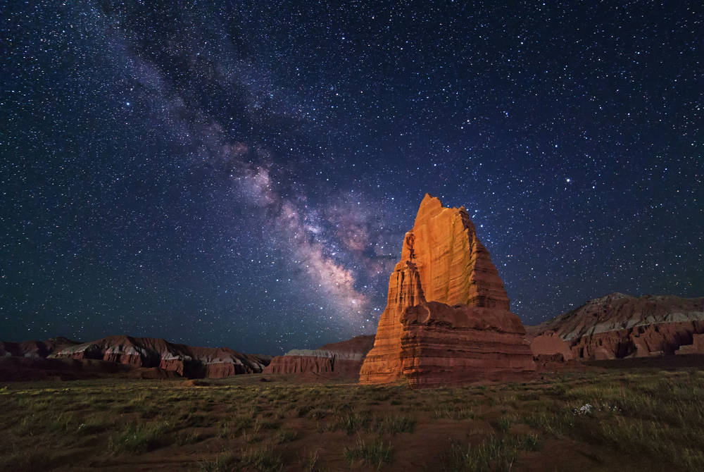 Temple of the Moon, Capitol Reef National Park