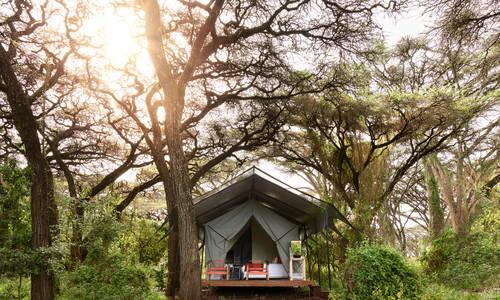 Tent, Sanctuary Ngorongoro Crater Camp, Tanzania