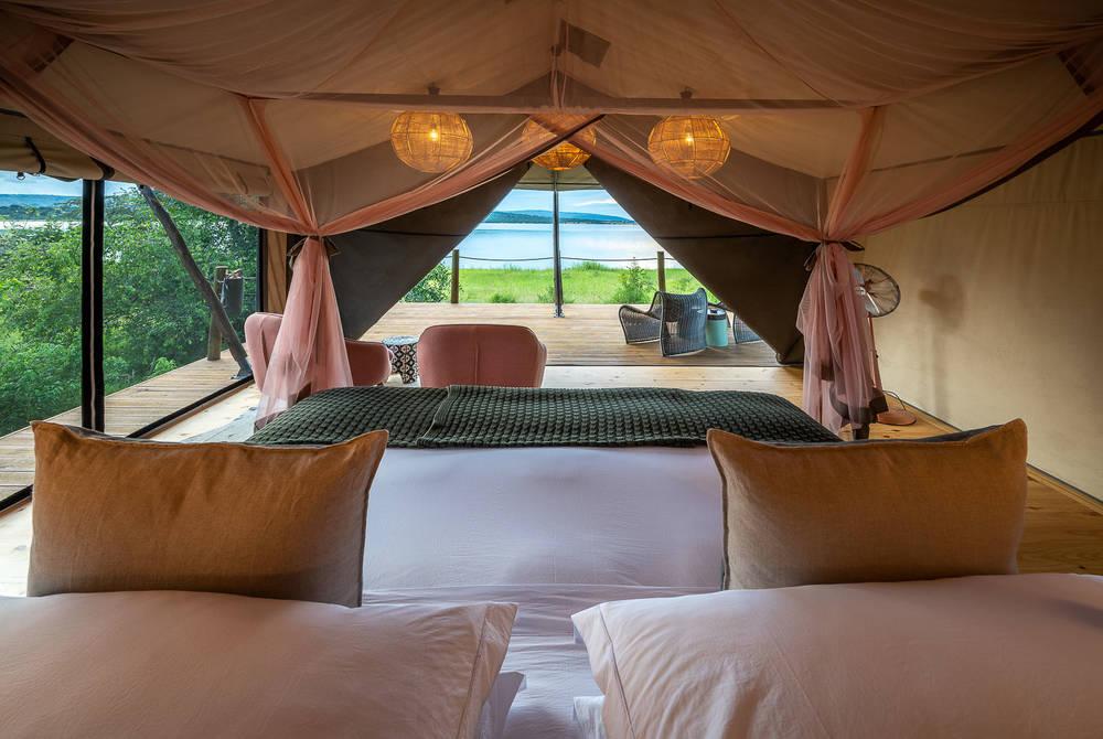 Tent, Magashi Camp, Akagera National Park, Rwanda