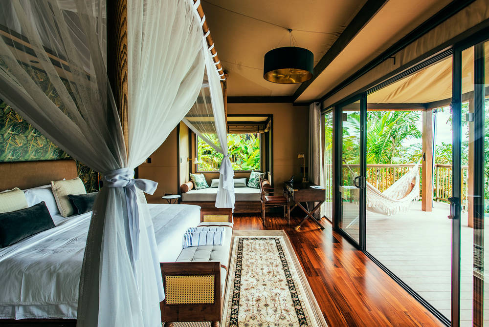 Luxury tent, Nayara Tented Camp, Costa Rica