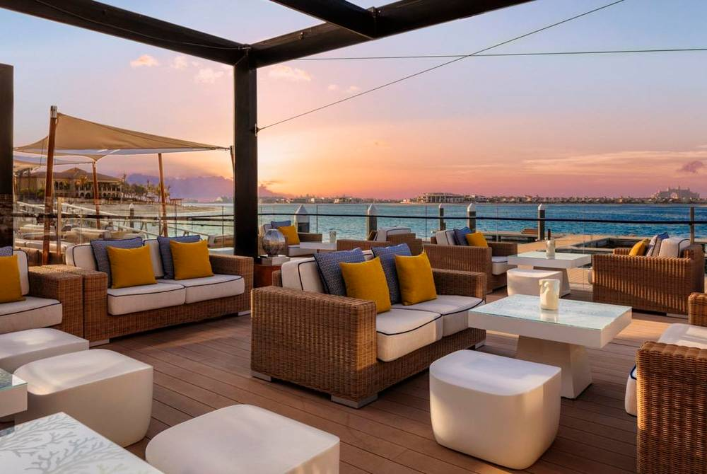 Terrace, One&Only The Palm, Dubai