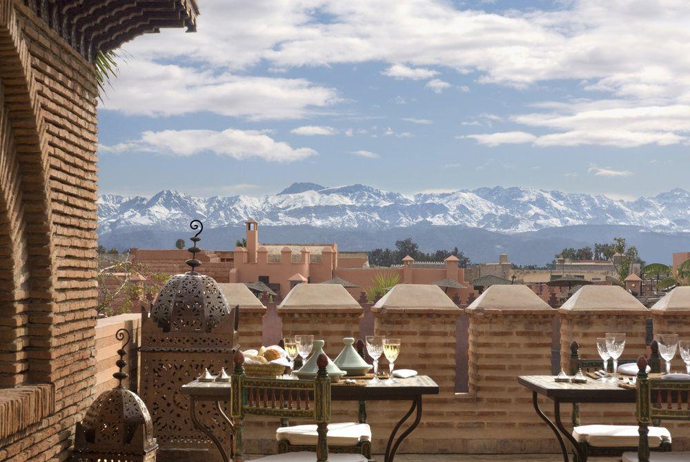 Terrasse, La Sultana Marrakech Hotel & Spa