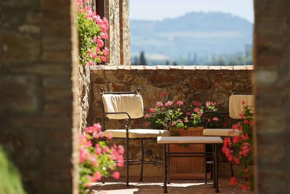 Terrazza Privata, Castello Banfi il Borgo