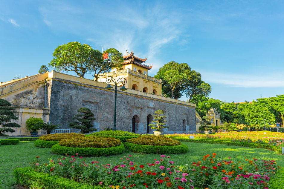 Hanoi's Imperial Citadel of Thang Long, Vietnam
