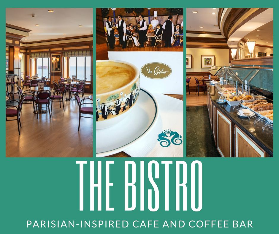 The Bistro Restaurant on Crystal Cruises