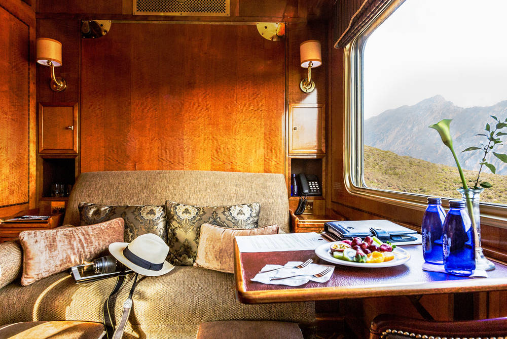Luxury Suite, Blue Train, South Africa