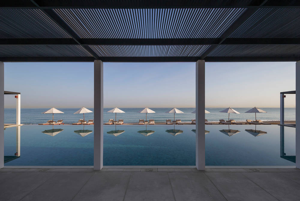 The Chedi Pool, The Chedi Muscat