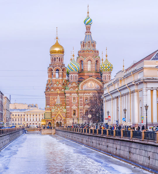 The Church of Our Savior on Spilled Blood, St Petersburg
