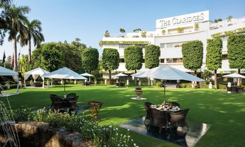 The Claridges Garden, The Claridges, Delhi, India