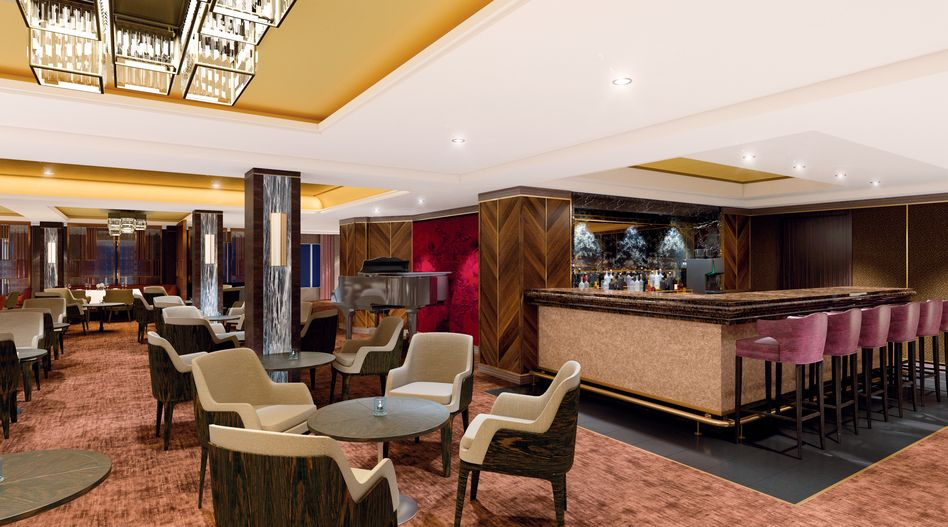 The Club by Jools bar and restaurant on Spirit of Discovery