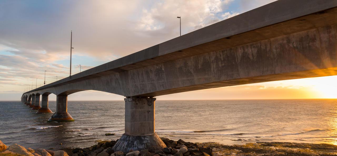 The Confederation Bridge, Atlantic Canada