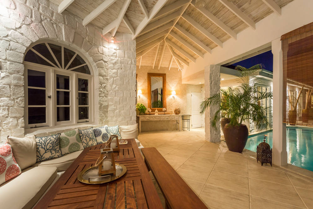 Presidential suite, The Cotton House, Mustique