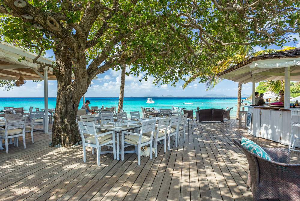 The Beach Cafe, The Cotton House, Mustique