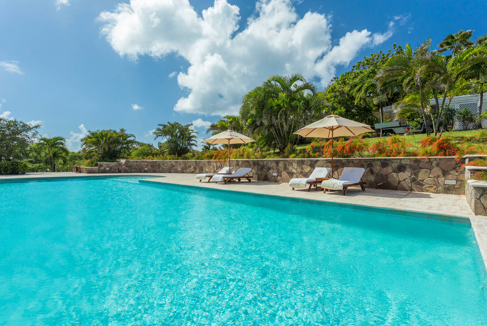 Pool, The Cotton House, Mustique