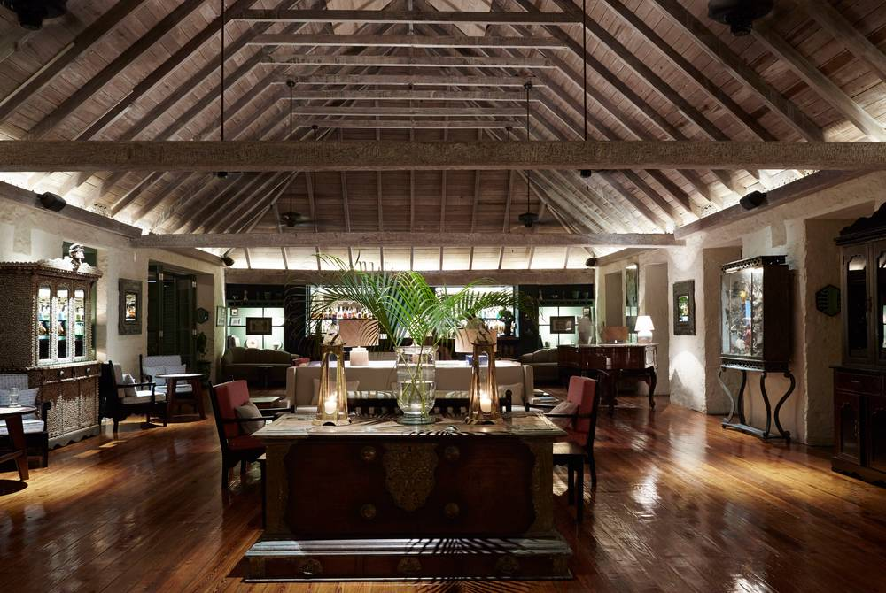 The Great Room, The Cotton House, Mustique