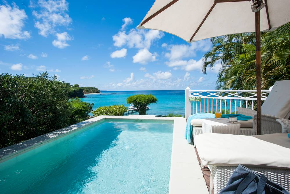 Seaview room, The Cotton House, Mustique