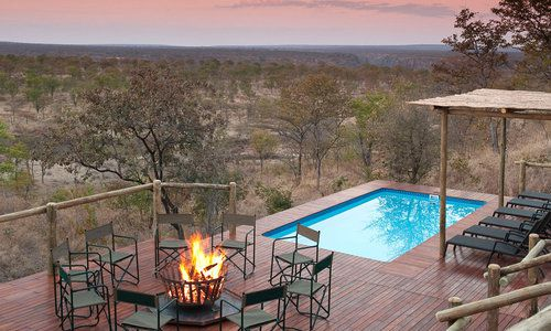 The Elephant Camp, The Victoria Falls, Zimbabwe