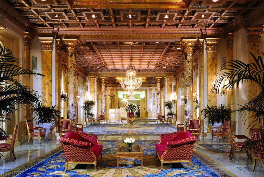 The Fairmont Copley, lobby