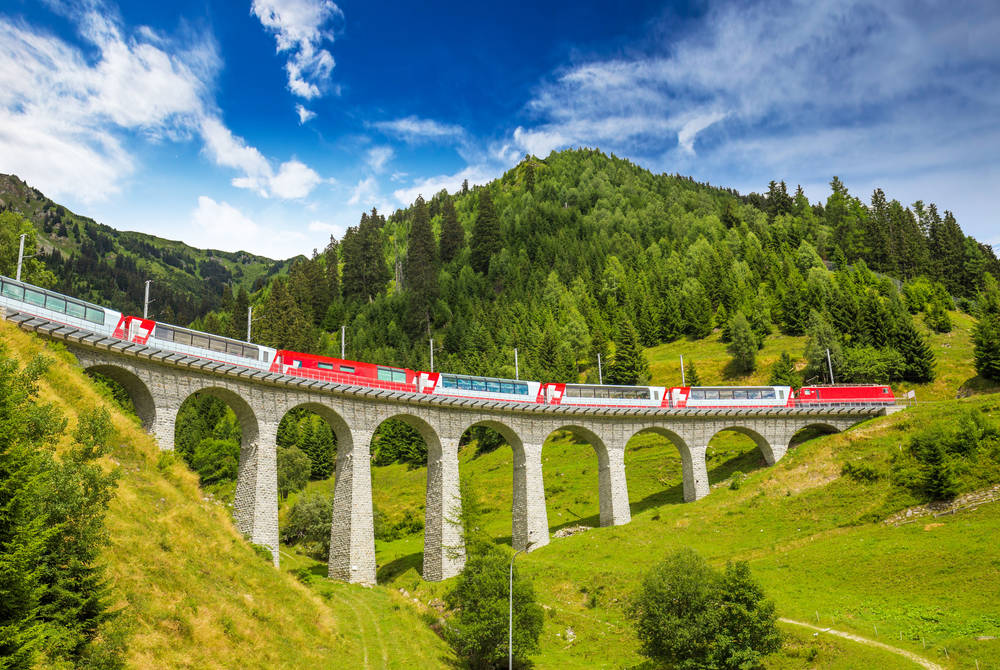 The Glacier Express, Viaduct bridge
