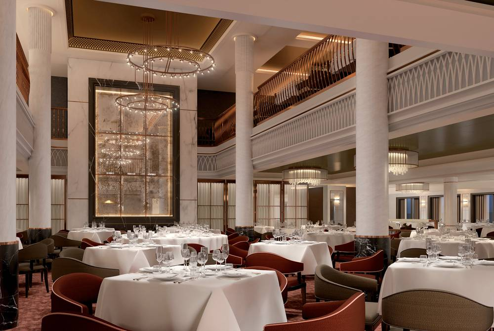 The Grand Dining Room, Spirit of Discovery