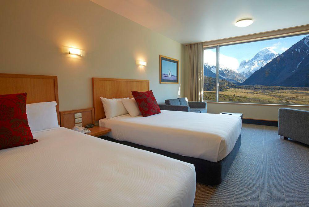 The Hermitage premium room, New Zealand