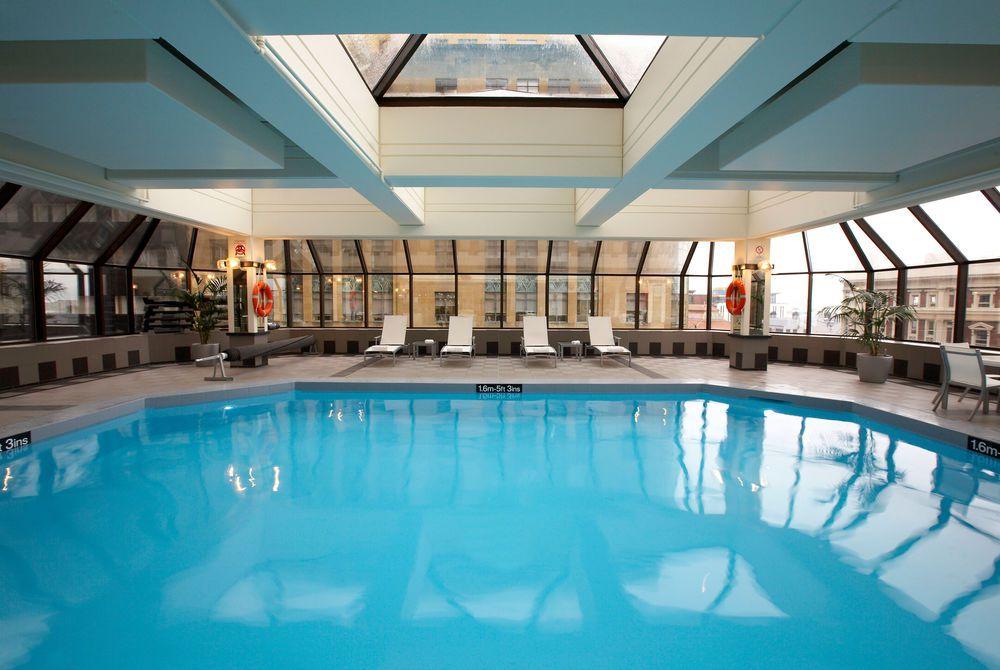 The InterContinental Emerge health club pool, New Zealand