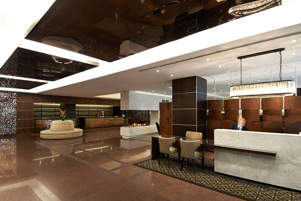 The InterContinental lobby, New Zealand
