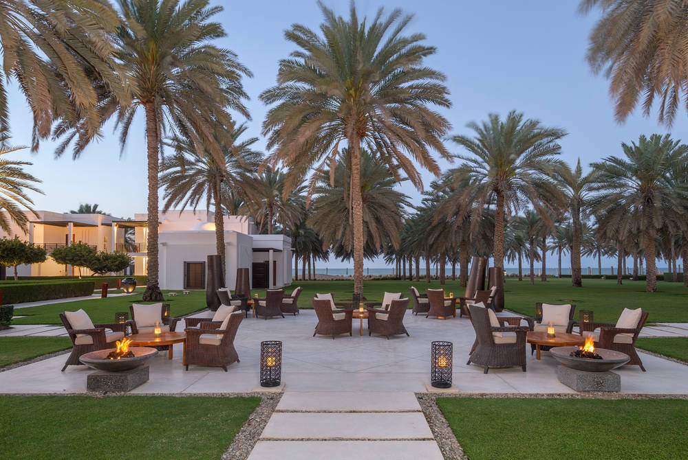 Lobby lounge, The Chedi Muscat