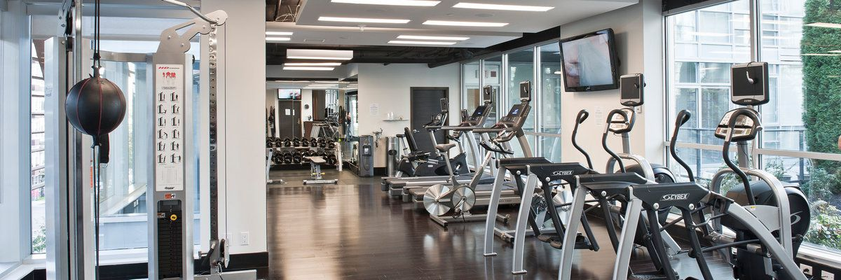 Health club at The Loden