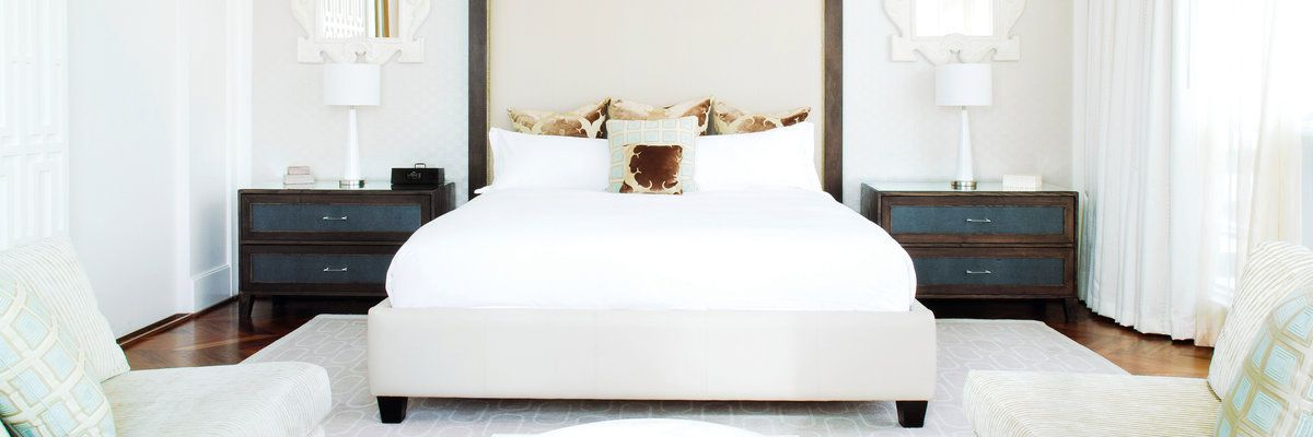 Guest room at The Loden