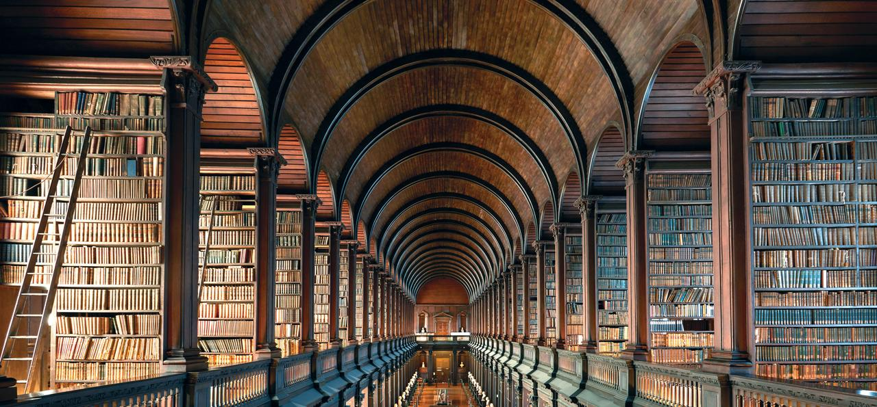 The Long Room in the Trinity College Dublin Library
