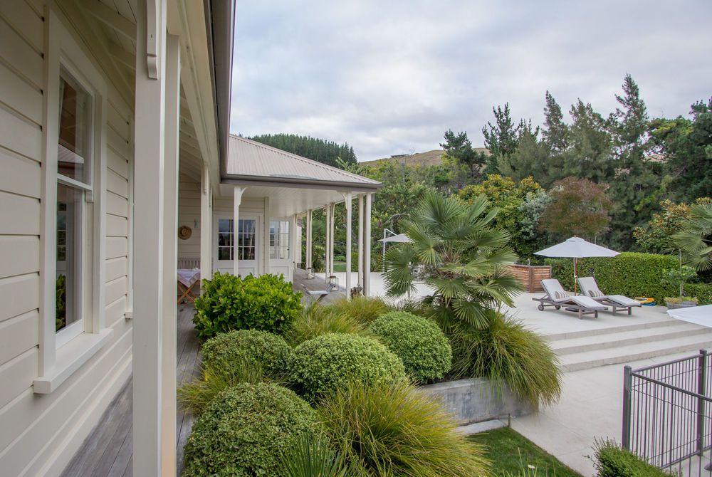 The Manse verandas and deck, New Zealand