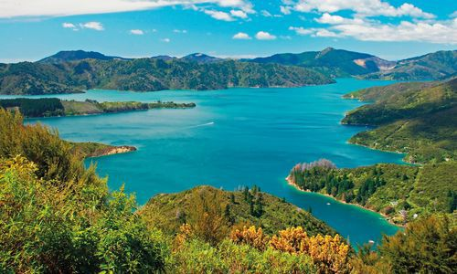 The Marlborough Sounds, South Island, New Zealand