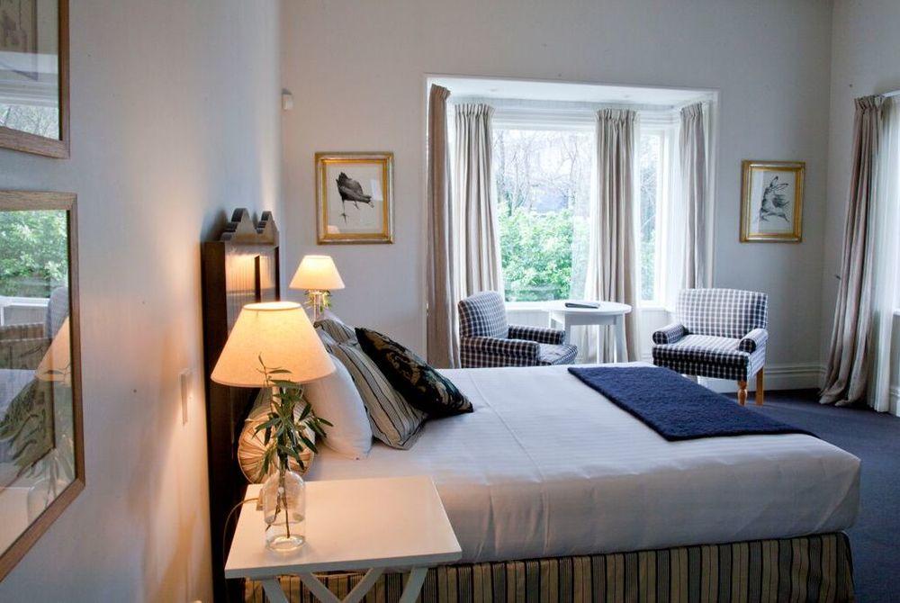 The Martinborough Hotel bedroom in daylight, New Zealand