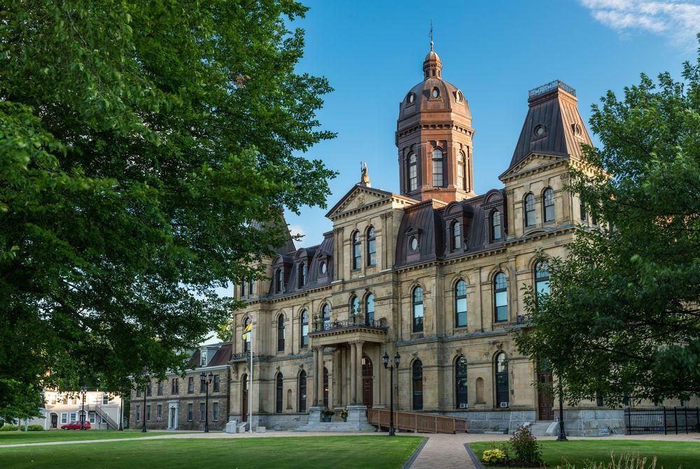 The New Brunswick Legislative Building, Fredericton