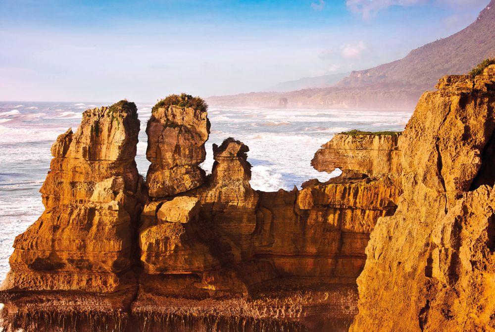 The Pancake Rocks, Punakaiki, South Island, New Zealand