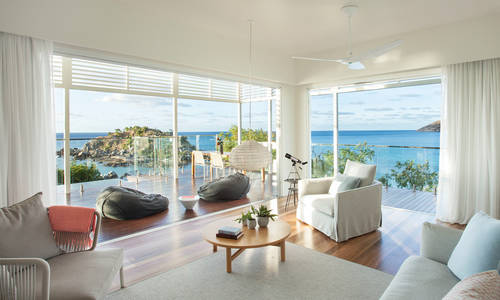 The Pavilion Living Area, Lizard Island, Great Barrier Reef
