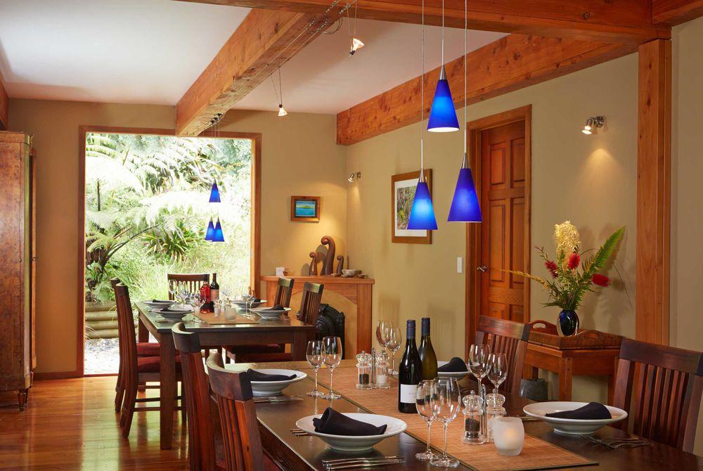 The Resurgence dining room, New Zealand