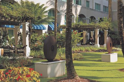 Garden, The Ritz-Carlton
