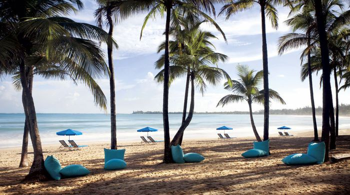 The beach, The Ritz-Carlton
