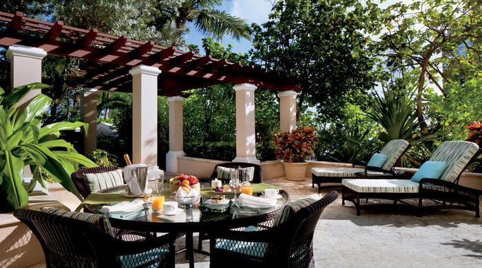 Outdoor Dining, The Ritz-Carlton
