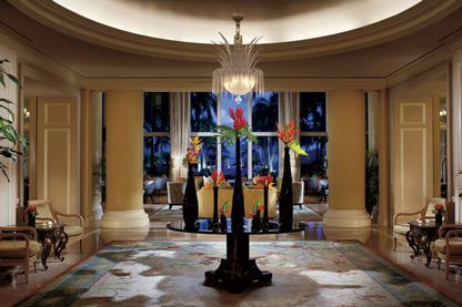 Lobby, The Ritz-Carlton